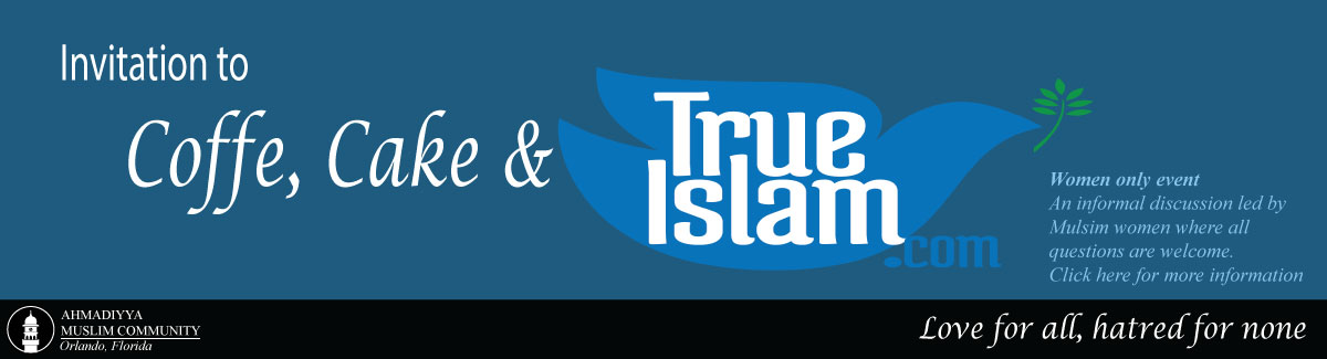 Coffee, Cake & True Islam (women only event)